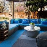 Stanton Carpet for Contemporary Patio with Outdoor Sectional Furniture