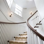 Stanton Carpet for Traditional Staircase with Stairwell