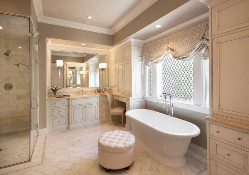 Starion for Traditional Bathroom with Steam Shower