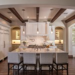 Starion for Traditional Kitchen with Wood Beams