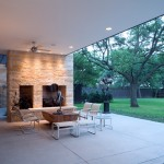 Stiles Construction for Modern Patio with Outdoor Living Space