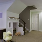 Stiles Construction for Traditional Basement with Fun