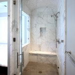 Stiles Construction for Traditional Bathroom with Shower Window