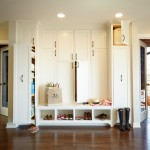 Stiles Construction for Traditional Entry with Shoe Storage