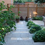 Stix and Stones for Contemporary Landscape with Walkway