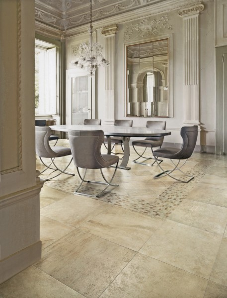 Stonepeak Ceramics for Modern Dining Room with Rough Finish