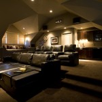 Stony Brook Theater for Traditional Home Theater with Theater Room