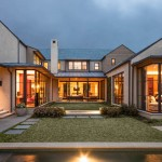Storer House for Contemporary Exterior with Stone Paver Pathway