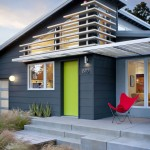 Storer House for Midcentury Exterior with House Number
