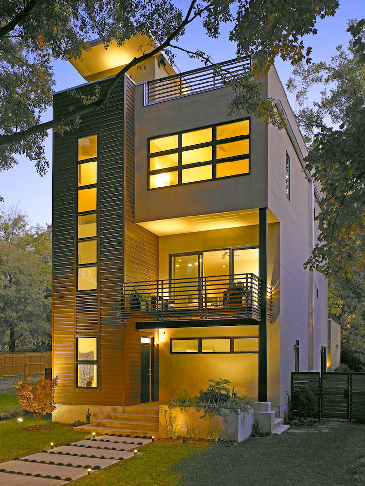 Storer House for Modern Exterior with Balcony