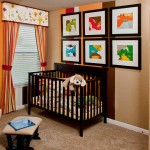 Stylecraft Builders for Contemporary Nursery with Curtains