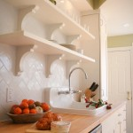 Subway Tile Patterns for Traditional Kitchen with Bar Faucet