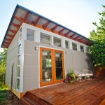 Sudio for Modern Shed with Clerestory Windows