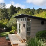 Sudio for Modern Shed with Home Gym