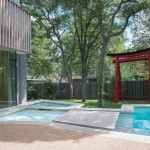 Summers Heating and Cooling for Midcentury Pool with Midcentury