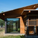 Summers Heating and Cooling for Modern Exterior with Stone Step
