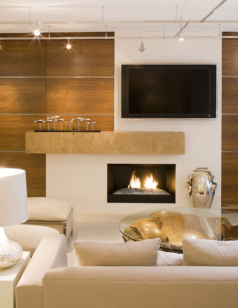 Sunrise Jacksonville Fl for Contemporary Living Room with Asymmetrical Fireplace
