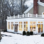 Sunroom Decorating Ideas for Traditional Exterior with Exterior
