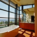 Swenson Granite for Contemporary Bathroom with Large Tub