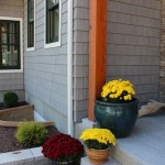 Swenson Granite for Farmhouse Entry with Rockwell Window Wells