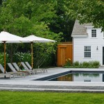 Swenson Granite for Traditional Pool with Pool Tile