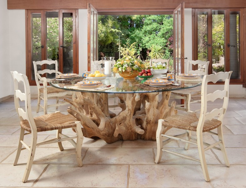 Tabet for Contemporary Dining Room with Neutral Colors