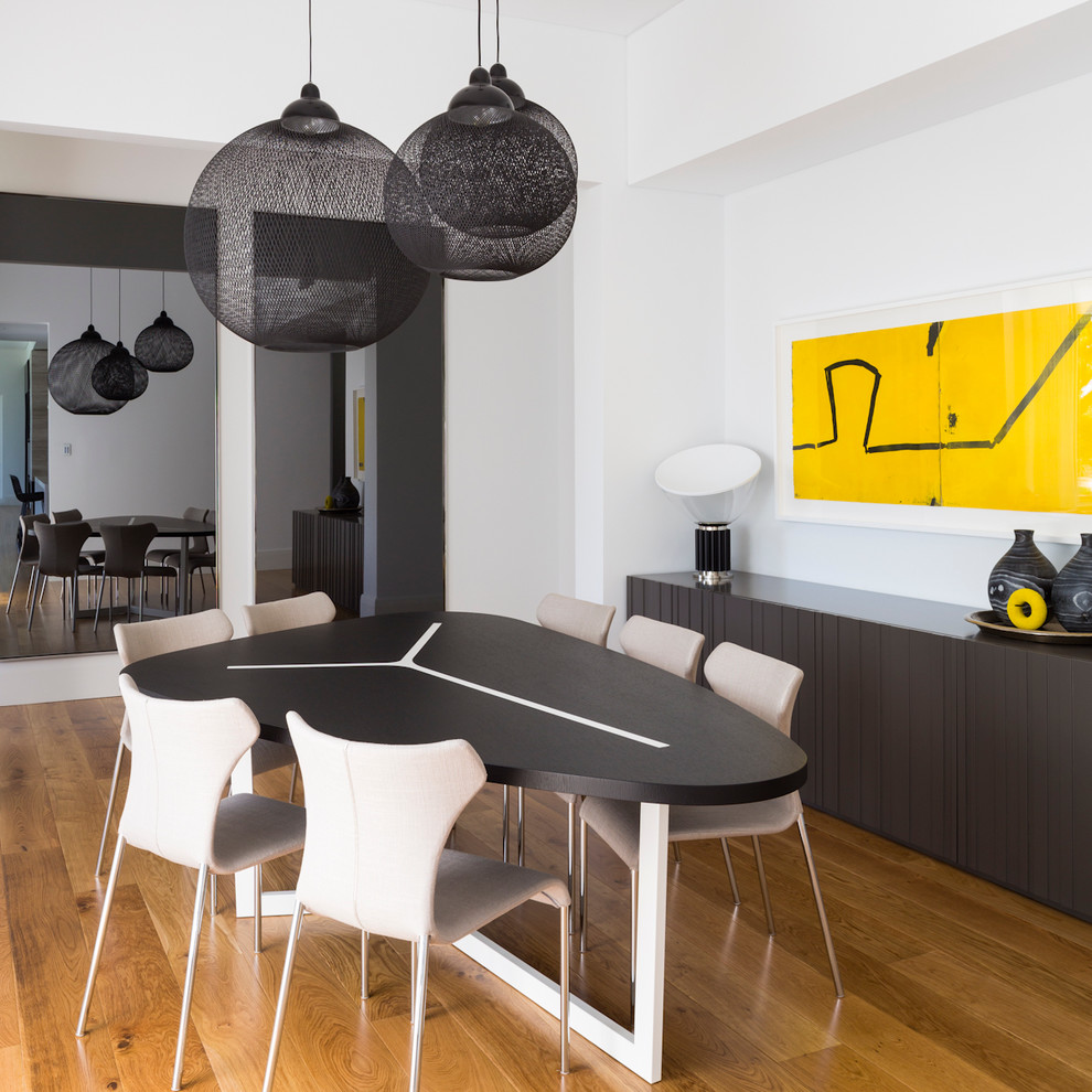 Table Shuffleboard Rules for Contemporary Dining Room with Neutral Colors