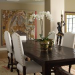 Table Shuffleboard Rules for Traditional Dining Room with Wood Dining Table