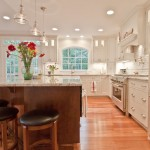Taliesin Spring Green Wi for Contemporary Kitchen with Wood Cabinets