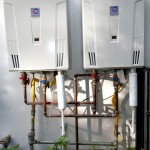 Tankless vs Tank Water Heater for Modern Spaces with Architectural Design and Construction In