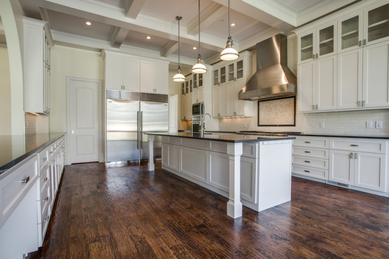 Tatum Tx for Traditional Kitchen with Coffered Ceiling