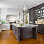 T&d Furniture for Transitional Kitchen with Range