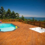 Teddy Bear Pools for Contemporary Deck with Beautiful