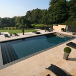Teddy Bear Pools for Contemporary Pool with Patio