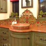 Tenpenny Furniture for Mediterranean Bathroom with Ojai