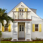 Texas Casual Cottages for Beach Style Exterior with White House