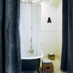 The Saguaro Hotel for Eclectic Bathroom with Black and White Bath