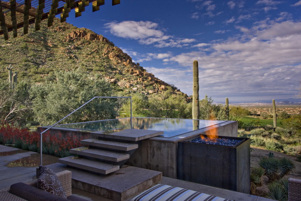 The Saguaro Hotel for Modern Pool with the Construction Zone Ltd