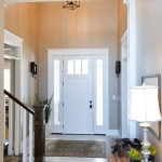 Therma Tru Doors for Craftsman Entry with Tile Floor