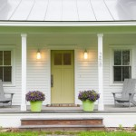Therma Tru Doors for Farmhouse Porch with Front Porch