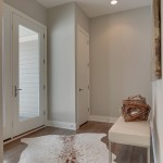 Therma Tru Doors for Modern Entry with Cowhide Rug