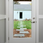 Therma Tru Doors for Modern Entry with Steppers