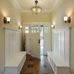Therma Tru Doors for Traditional Entry with Wall Sconce