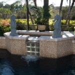 Tile Outlets of America for Tropical Spaces with Glass Mosaic Pool Tiles