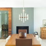 Tileco for Contemporary Dining Room with Wine Cellar