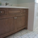 Tileco for Mediterranean Bathroom with Subway Tile Wainscot