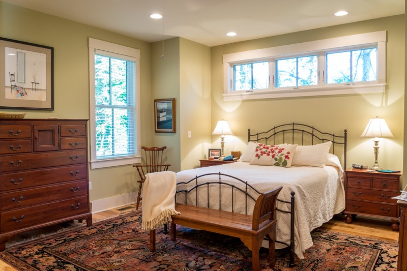 Timberlake Furniture for Farmhouse Bedroom with Nightstands