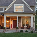 Timberlake Furniture for Traditional Exterior with Stone Column
