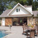 Tiny Houses for Sale in Pa for Traditional Pool with Outdoor Eating Area