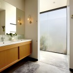 Toilet Paper Holder Height for Modern Bathroom with Window